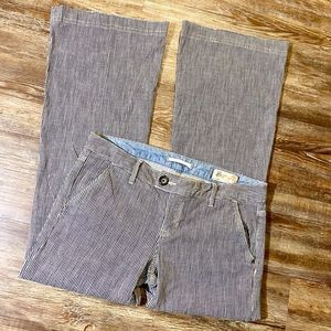 GAP Limited Edition Railroad Stripped Jeans Sz 6